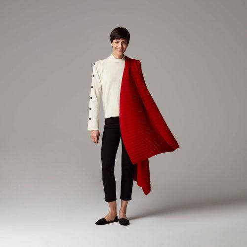 Vitus Red Cashmere Blanket