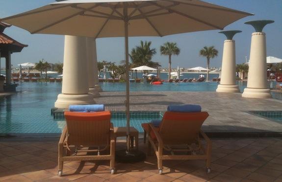 Main pool, Anantara, Dubai