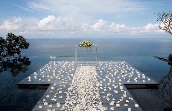 Wedding platform, Bulgari Bali