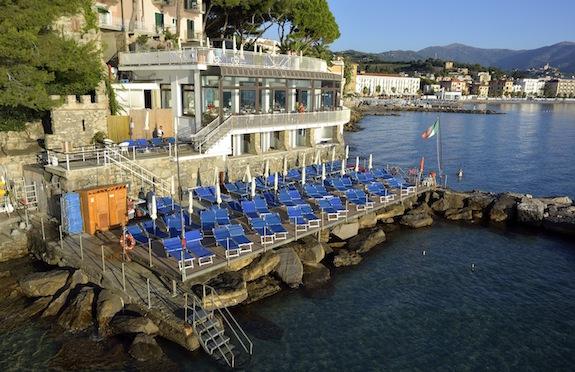 Arc en Ciel hotel, Liguria