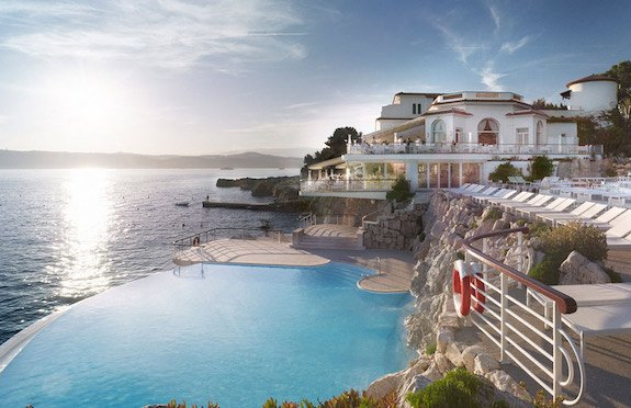 Swimming pool, Hotel du Cap Eden Roc