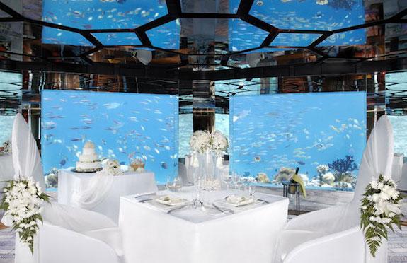 Sea Wine Cellar & Restaurant, Anantara Kihava Maldives Villas