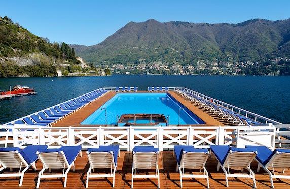 Swimming pool, Villa d'Este