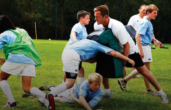 Legend rugby coaching, Forte Village