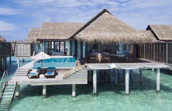 Overwater Pool Villa, Anantara Kihavah, Maldives