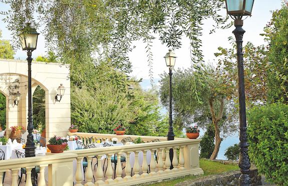 Terrace, Corfu Imperial, Grecotel Exclusive Resort, Corfu