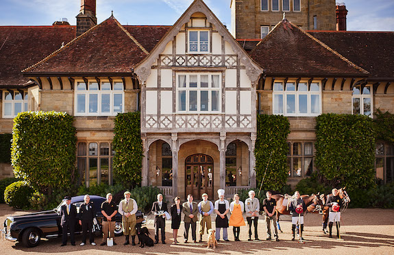 Cowdray House, West Sussex