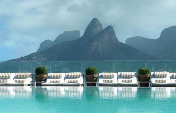 Pool, Hotel Fasano, Rio