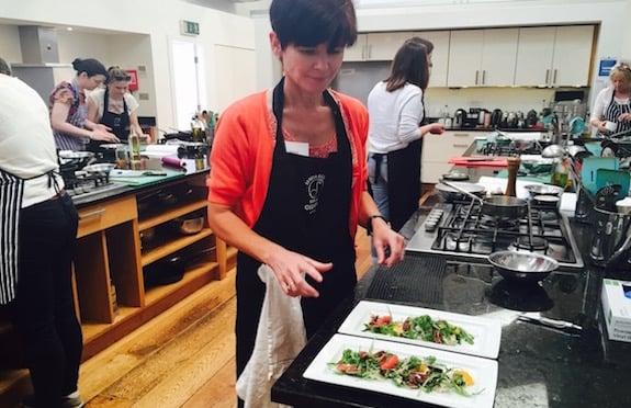 Niamh Barker at Dublin Cookery School