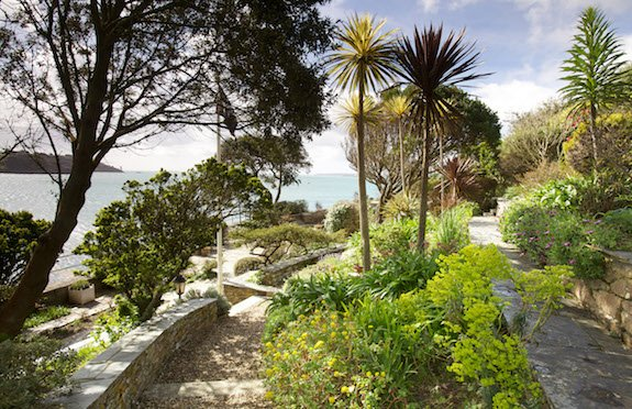 Garden, Penolva by St Mawes Retreats