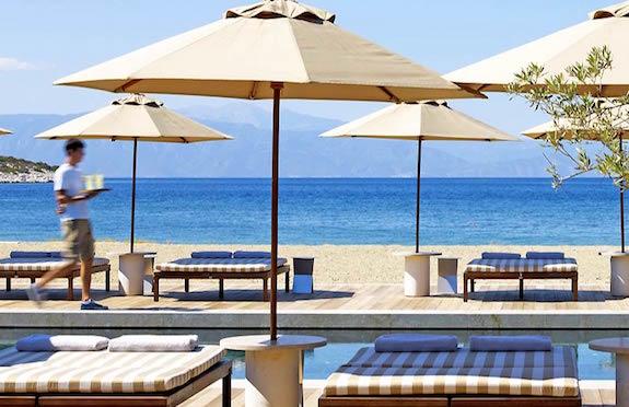 Beach Club, Amanzoe, Greece