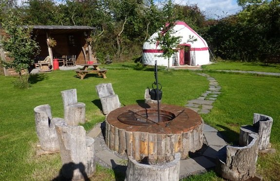 Bathroom Yurt yurts for happy glampersmaggie o'sullivan