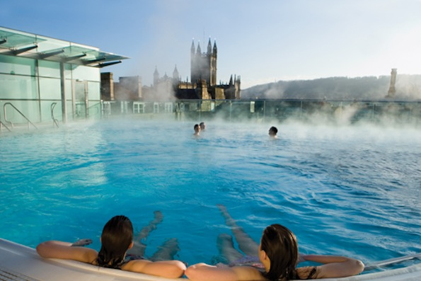 Taking the waters at the thermae bath spa by niamh barker - Hotels in bath with swimming pool ...