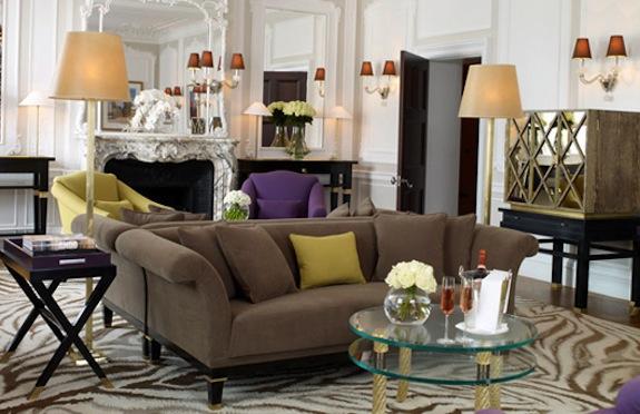 Diane Von Furstenberg suite, Claridge's, London