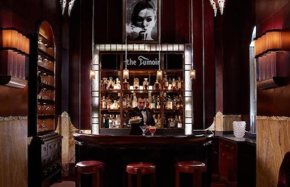 The Fumoir bar, Claridge's, London
