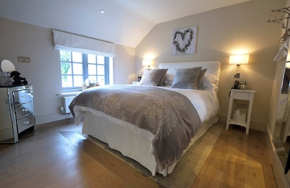'Indian Runner' guestroom, The Fuzzy Duck, Warwickshire