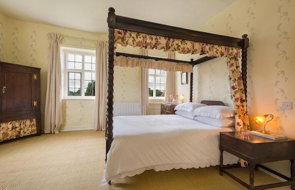 Bedroom, Itteringham Manor, Norfolk