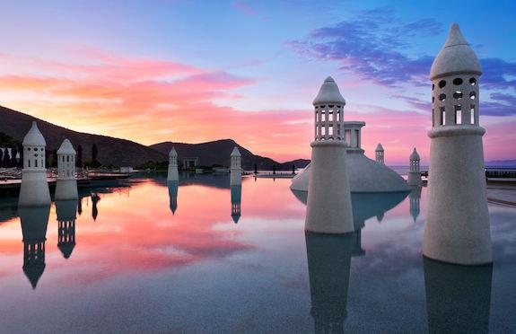 pool at Kempinski Hotel Barbaros Bay, Turkey