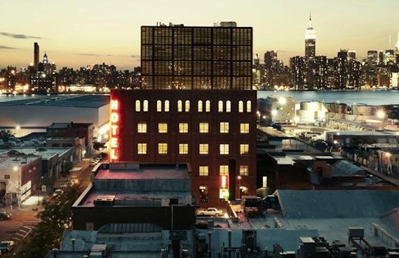 Exterior, Wythe Hotel, Brooklyn