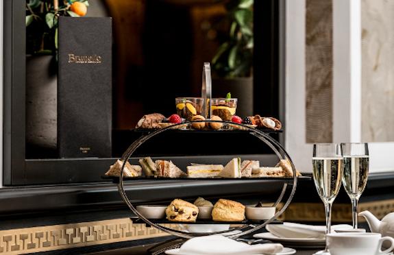 Afternoon tea, Baglioni Hotel, London