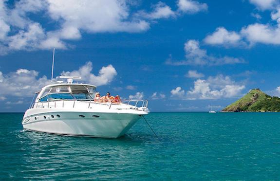 Private yacht, Cap Maison, St Lucia