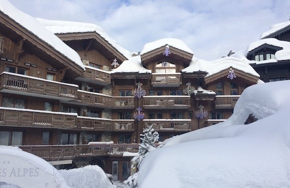 Les Grandes Alpes Private Hotel, exterior