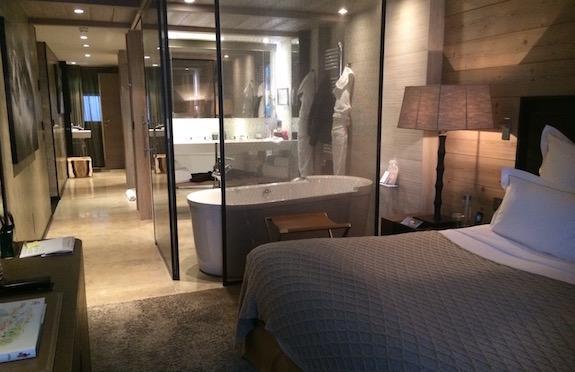 Master suite, Les Grandes Alpes Private Hotel, Courchevel 1850