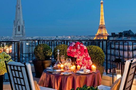 Balcony, Four Seasons George V, Paris