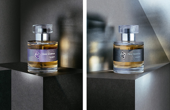 Scent bottles featured in Perfume: A sensory journey through contemporary scent, Somerset House