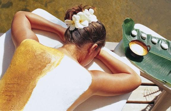Spa treatment at Porto Elounda, Greece