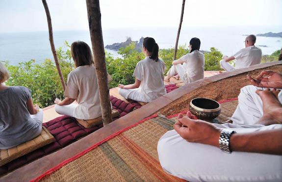 Meditation at SwaSwara, India