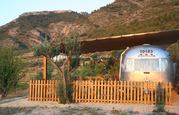 Airstream in Alicante, Sawday's Canopy & Stars
