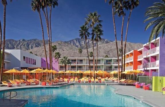 Pool, Saguaro, Palm Springs