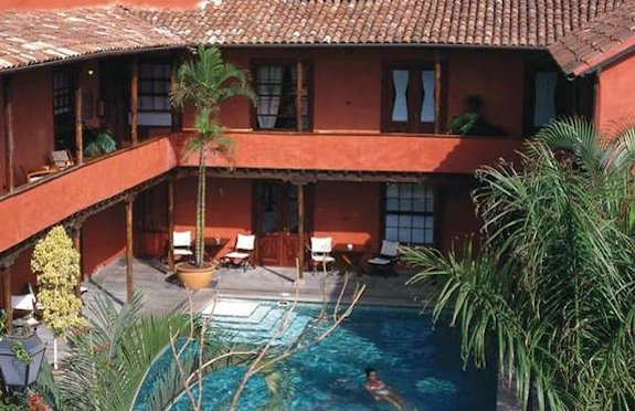 Courtyard pool, Hotel San Roque, Tenerife