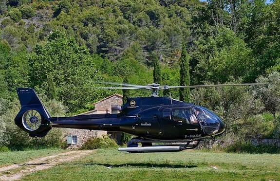 Helipad, Chateau Saint-Martin & Spa, France