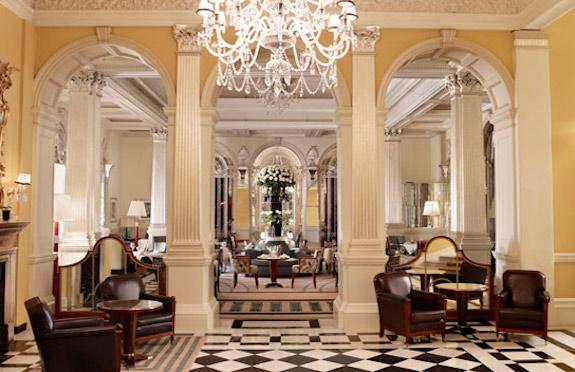 Lobby of Claridge's, London