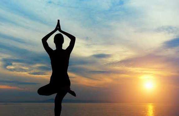 Dawn yoga, Conrad Bali