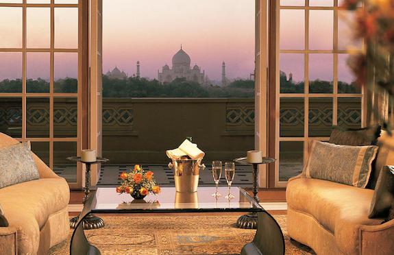 Taj Mahal from Oberoi Amarvilas, Agra