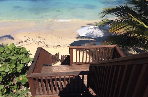 Pelican House beach, Blue Waters Resort & Spa, Antigua