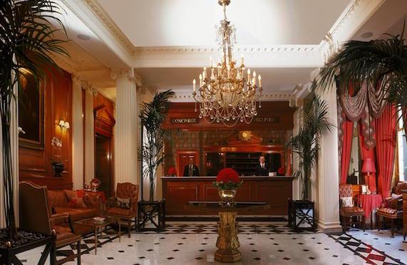 Lobby of The Chesterfield Mayfair, London