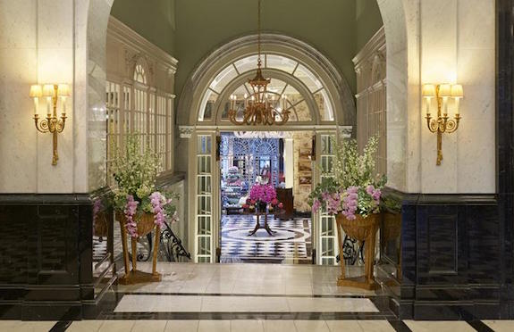 Lobby of The Savoy, London