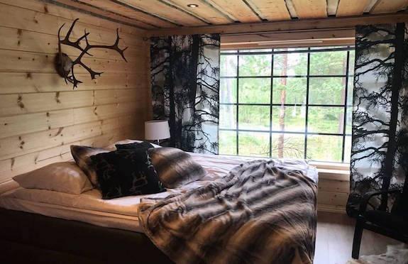 Bedroom, Hotel Nangu, Finland