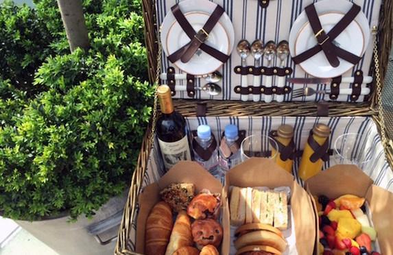 Charlotte Street Hotel Breakfast Hamper