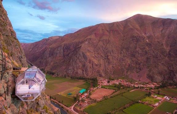 Skylodge, Adventure Suites, Peru, Exsus