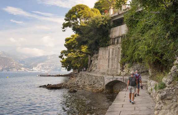 Walking on the French Riviera, Inntravel