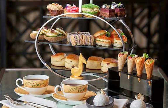 Afternoon Tea, Jumeirah Carlton Tower, London