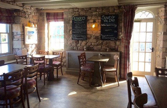 Restaurant, The Lord Crewe Hotel, Bamburgh