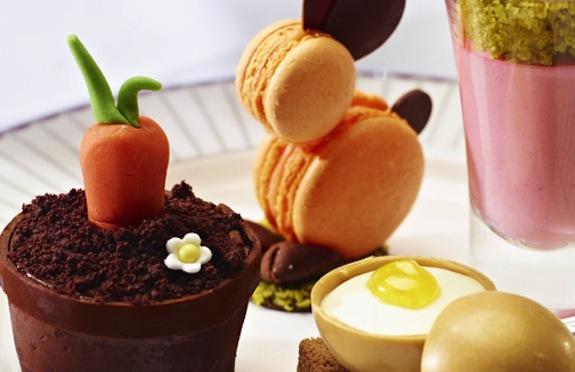 Easter Tea, Corinthia Hotel, London