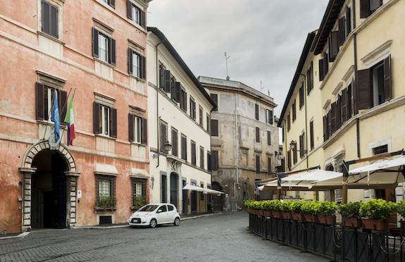 Rome street, Italy