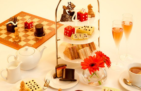 It's all in the Game Afternoon Tea, St James Hotel & Club